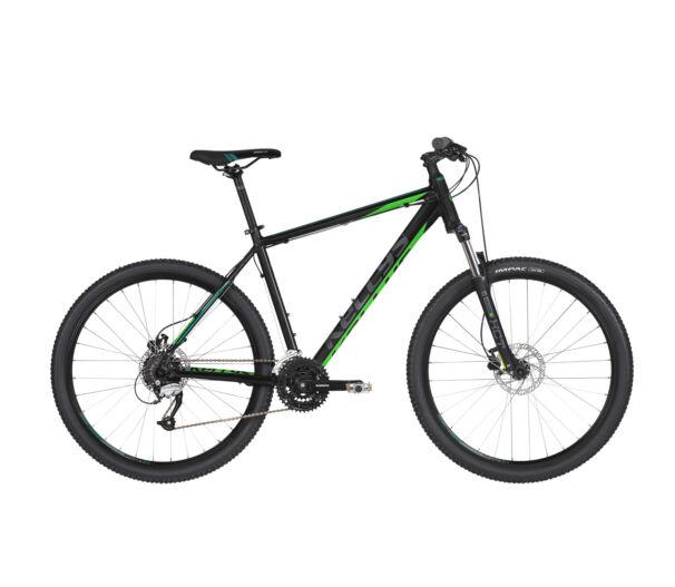 """Kellys MADMAN 50 2019 Black'n'Green  27,5"""" kerékpár"""