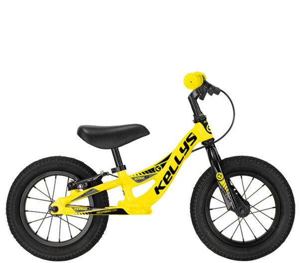 Kellys KITE 12 RACE YELLOW futókerékpár fékkel