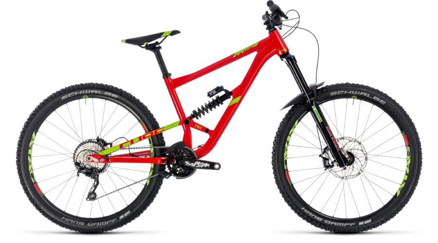 cube hanzz 190 race red 39 n 39 lime 2018 ker kp r m m bike. Black Bedroom Furniture Sets. Home Design Ideas